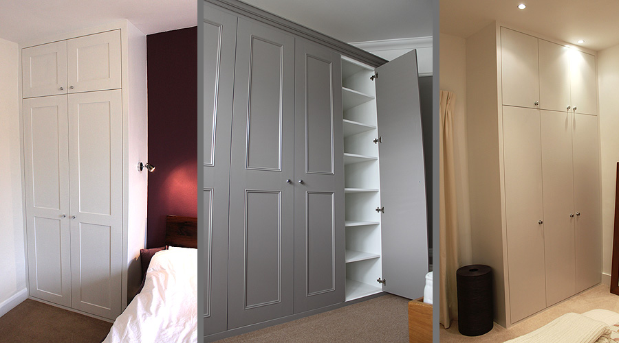 build fitted wardrobe into alcove 1