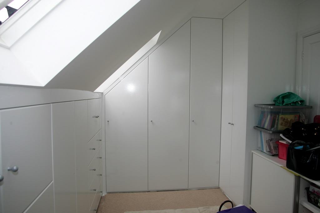 attic wardrobe ideas - Bedroom Wardrobes Attic Bedroom Wardrobes