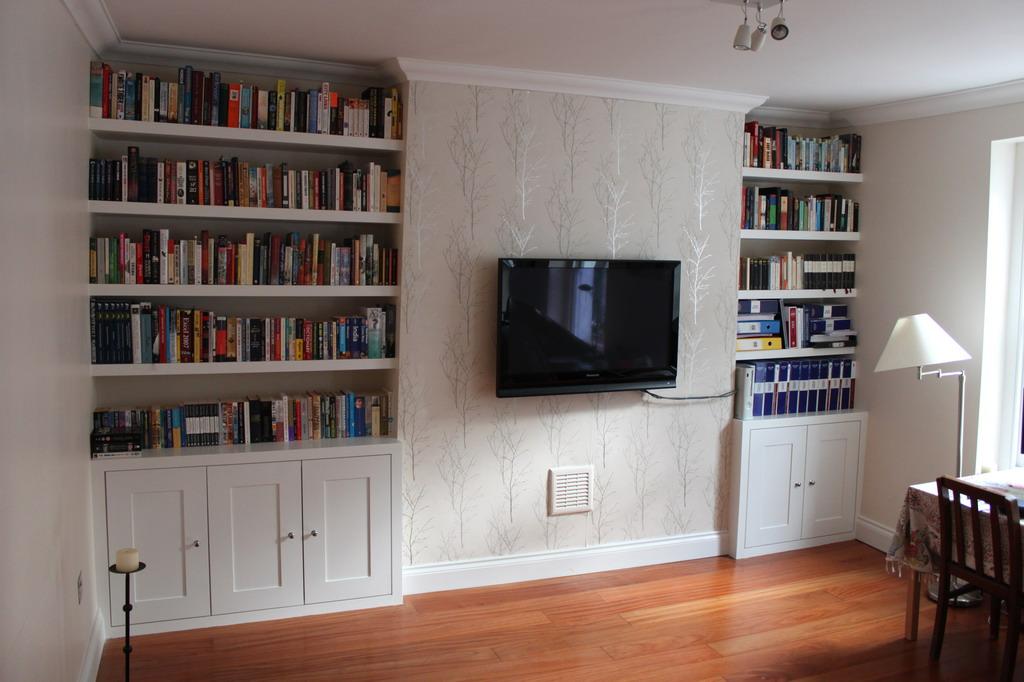 Innovative Built In Bookcases Traditionaldiningroom