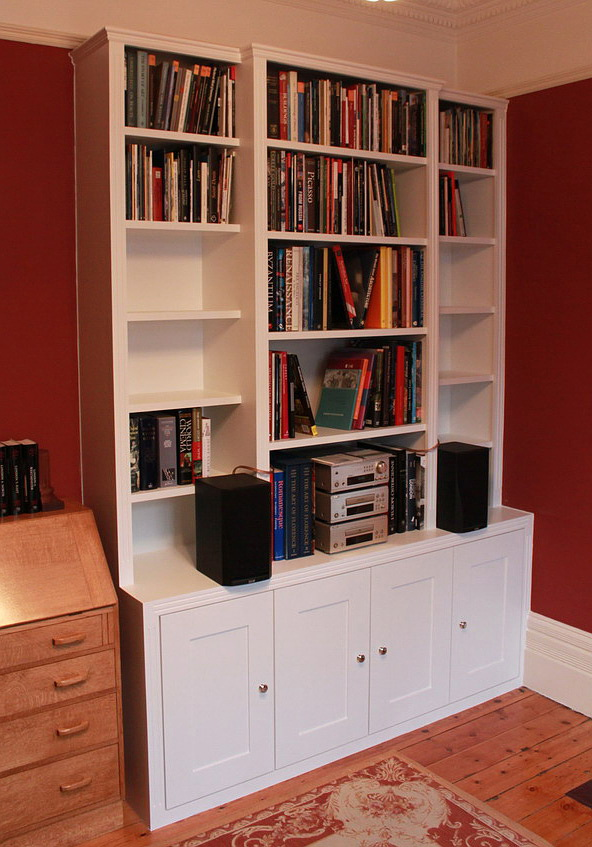 Traditional victorian bookshelves sw17