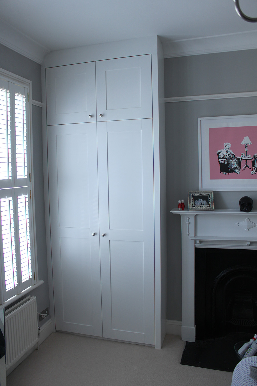 fitted wardrobes in Acton