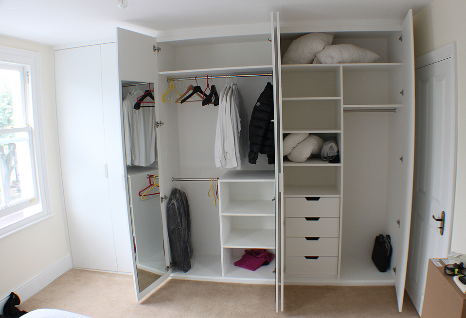 Fitted Wardrobes And Bookcases In London Shelving And Cupboards