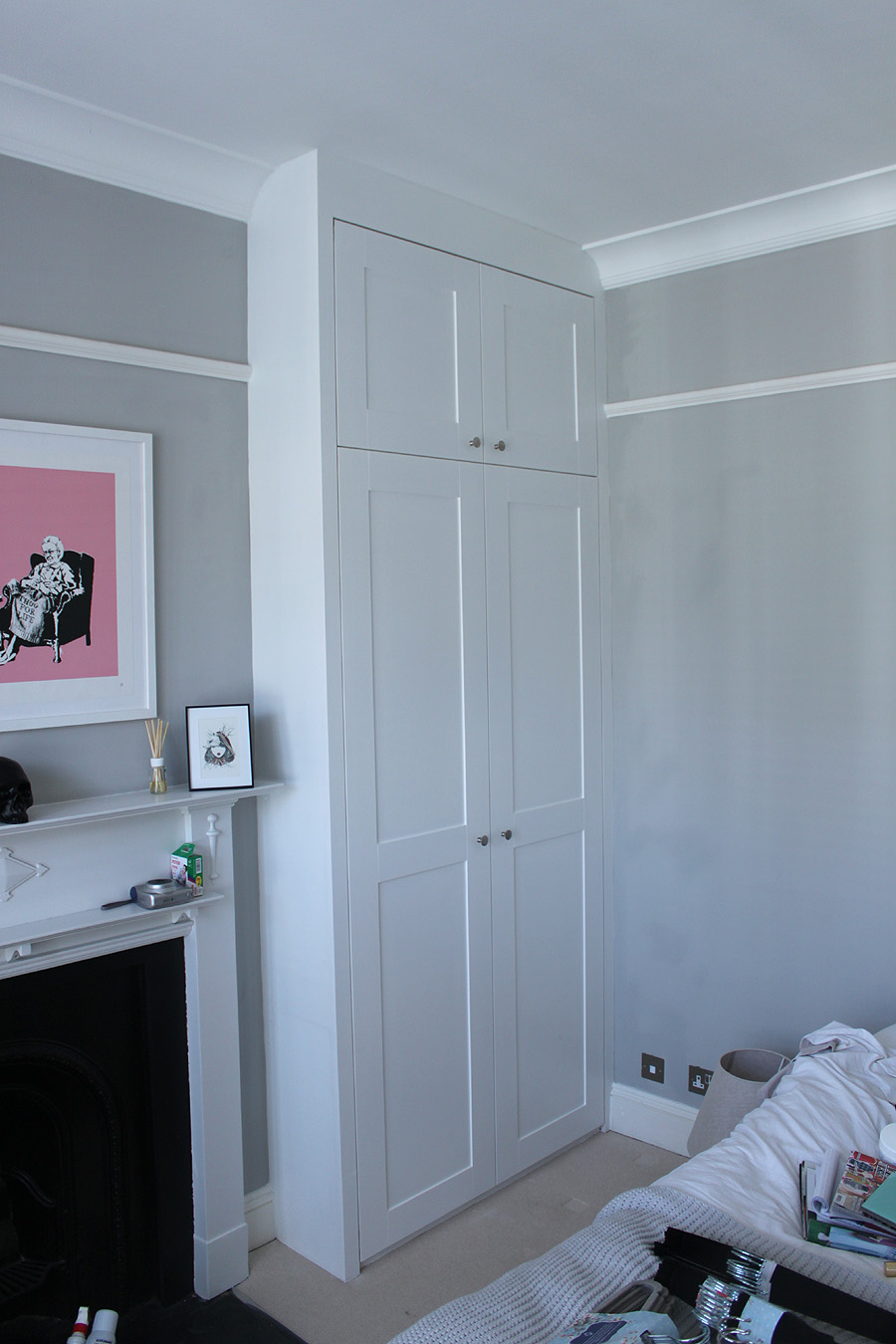 fitted wardrobes in Acton, W3