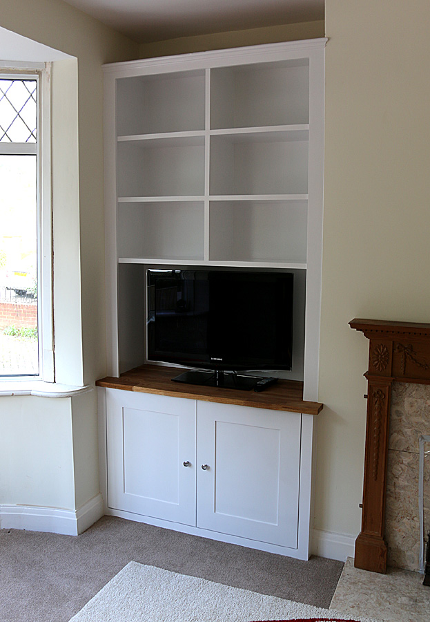 alcove shelves cost 3
