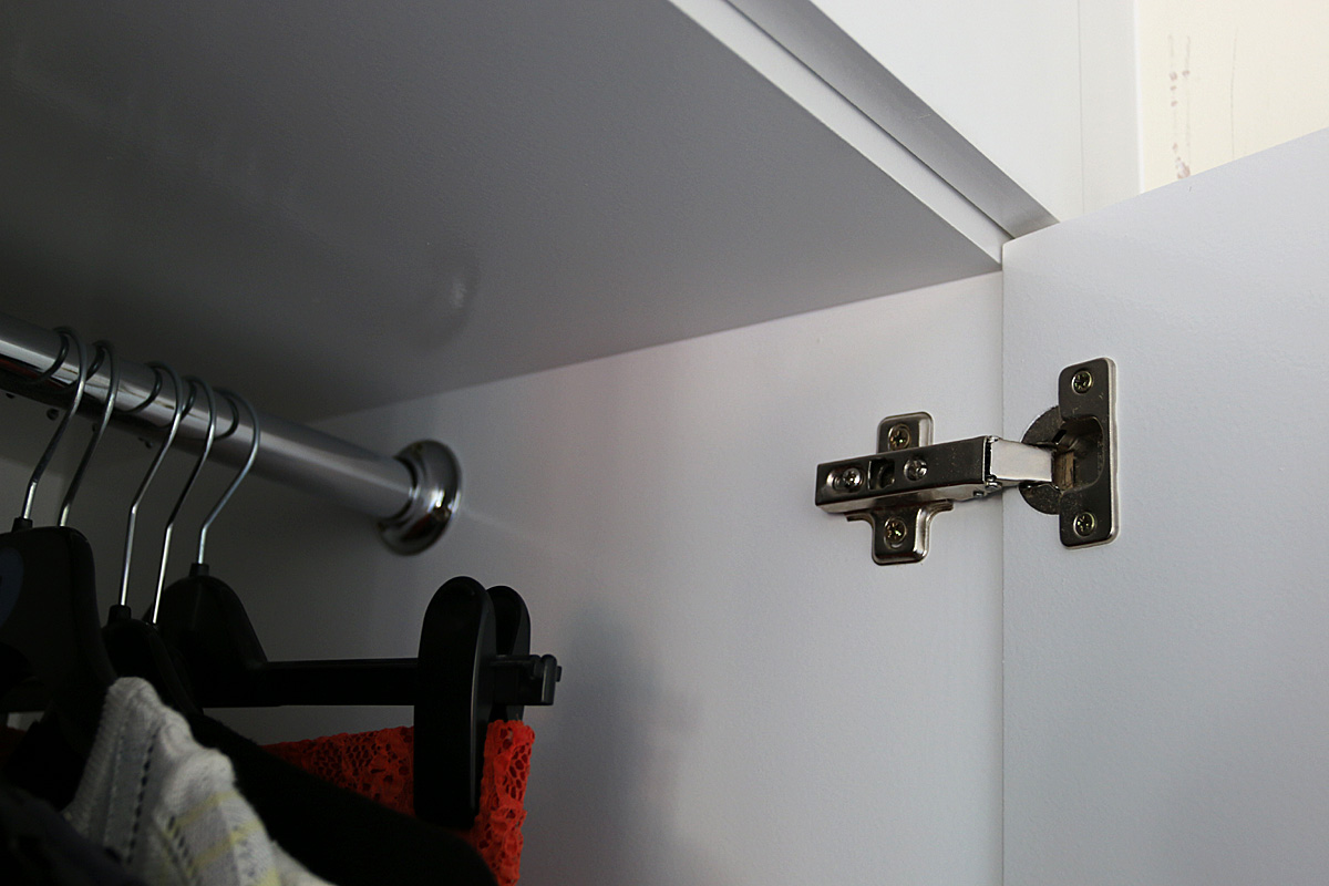 Concealed hinges we are using