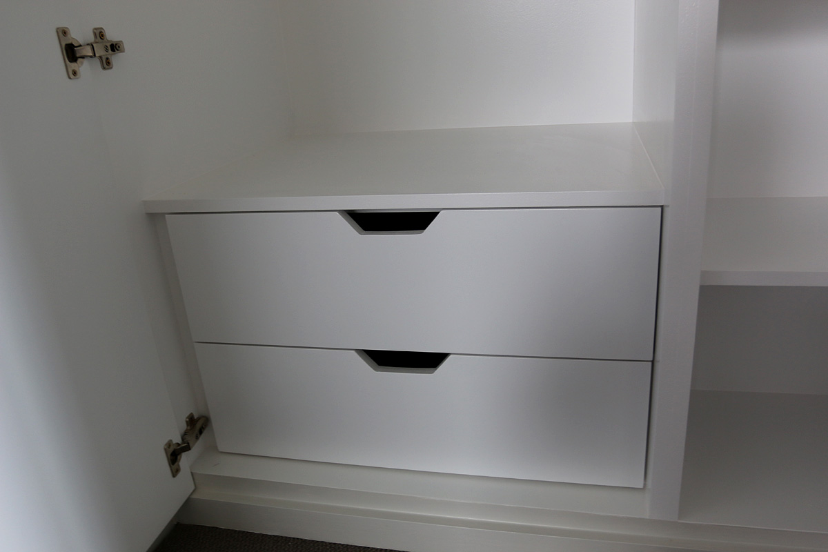 Example of  internal drawers