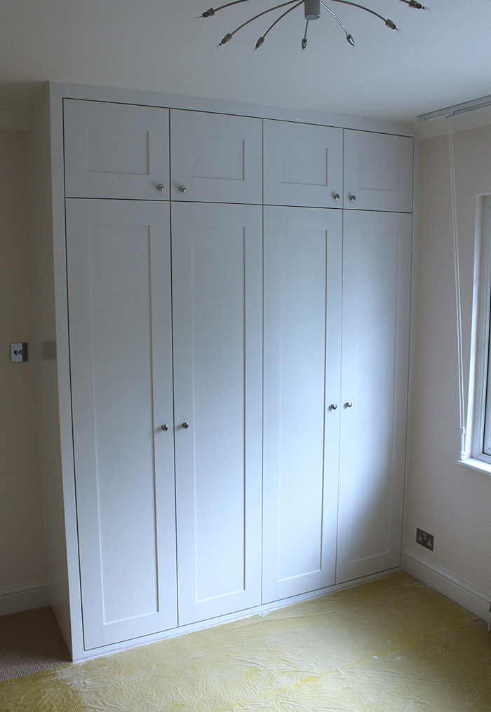 Double fitted wardrobe, Willesden Green, NW2