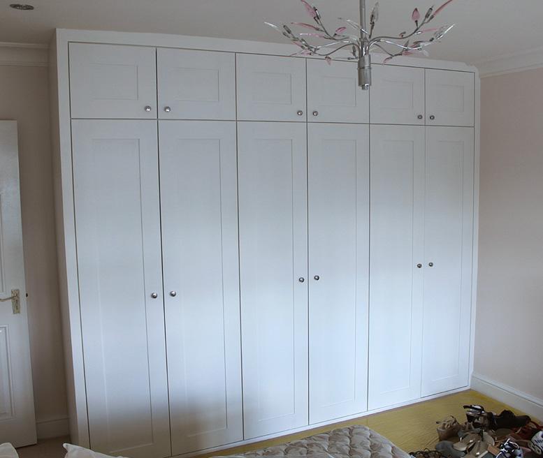 Triple fitted wardrobe, Willseden green, NW2