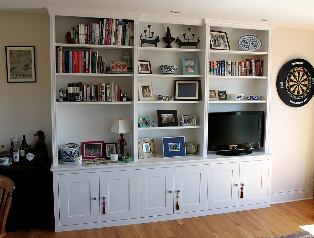 Traditional (classic) bookcase, Barons court