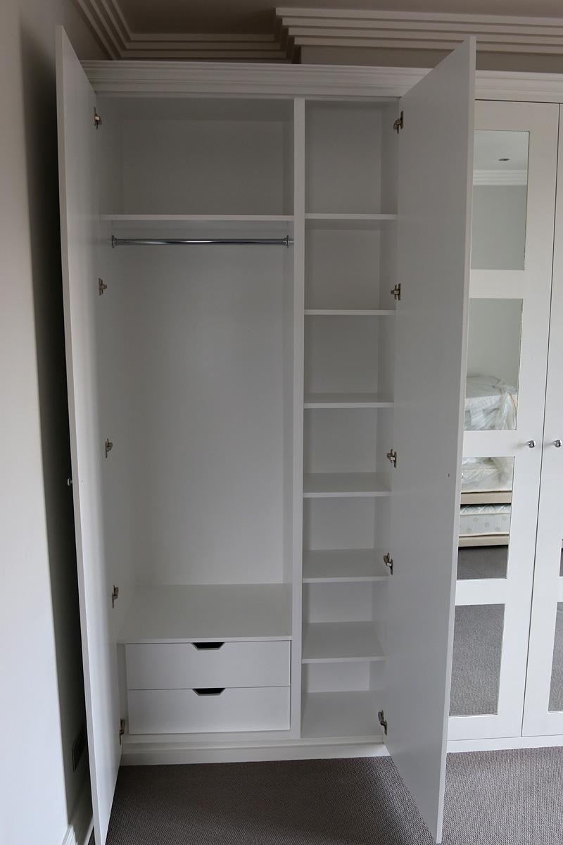 Example of wardrobe interior