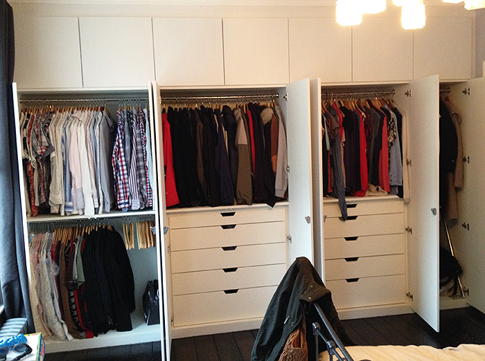 Fitted wardrobes interiors examples