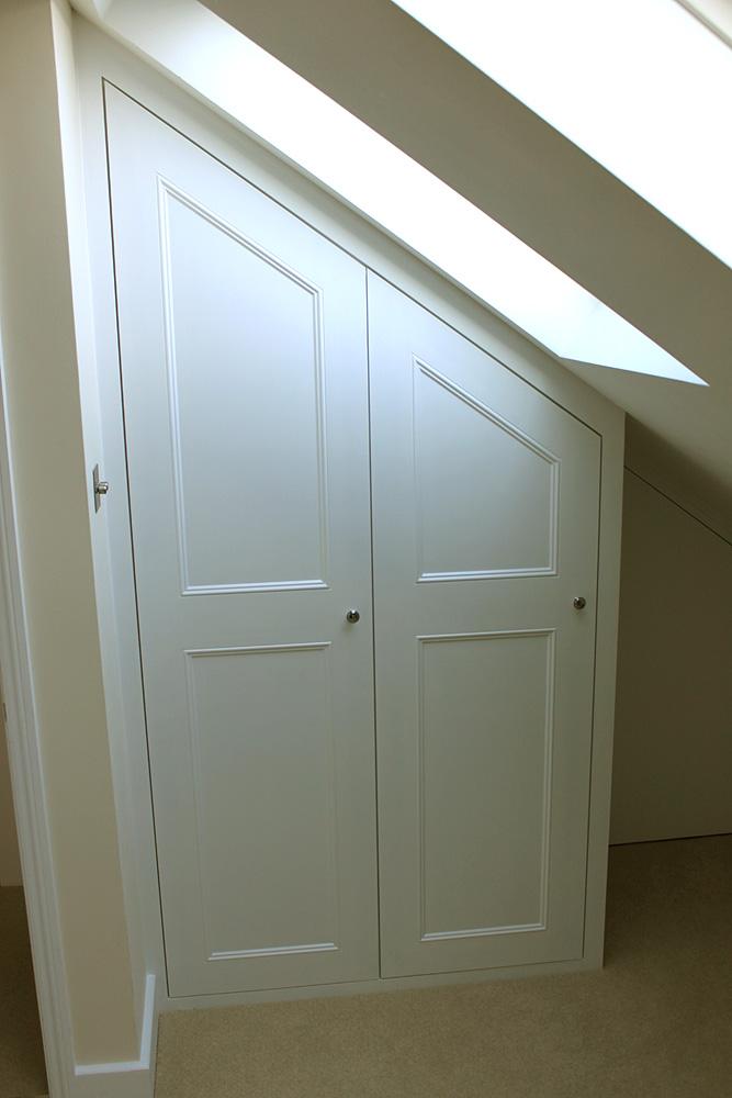 attic slanted roof closet ideas - Wardrobe pany Floating shelves boockcase cupboards