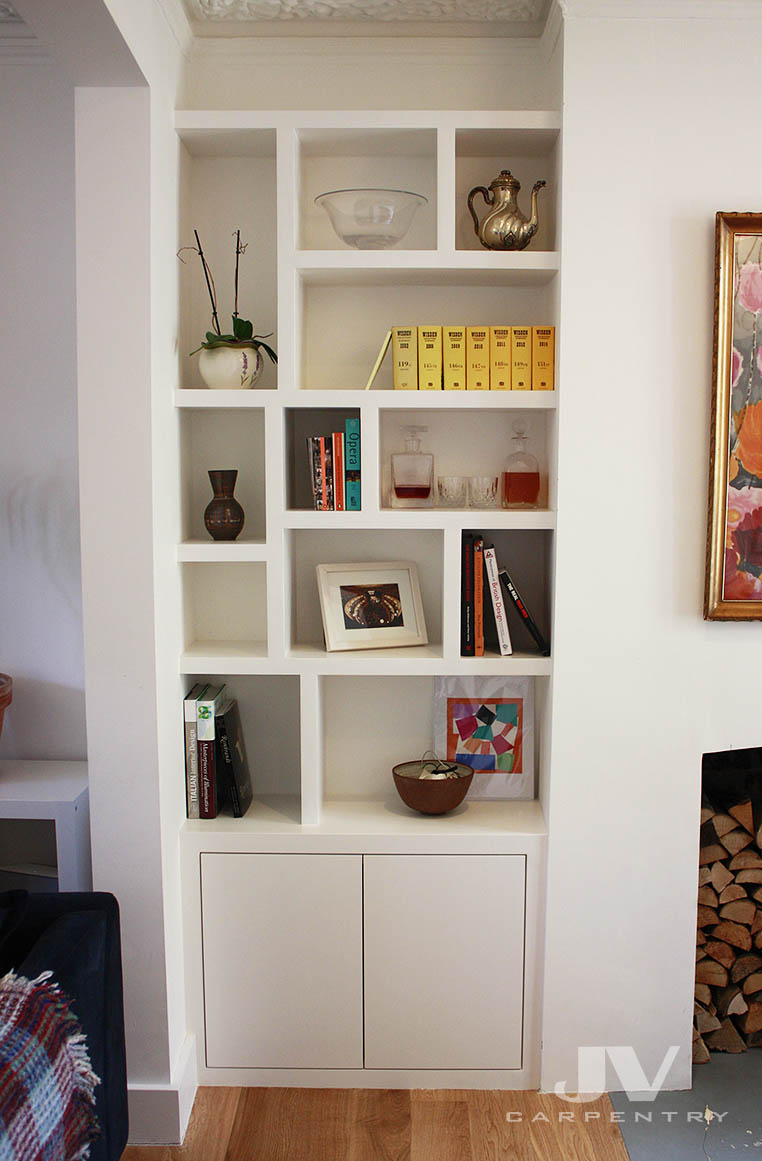 Fitted Bookcases Fitted Alcove Bookcase