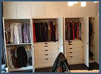 Wardrobe interiors examples button