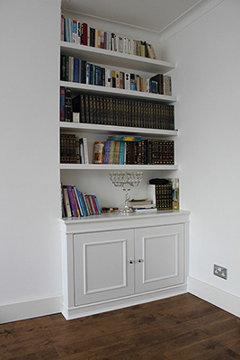 Fitted Bookcase London