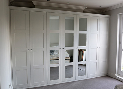 Fitted wardrobe in north London