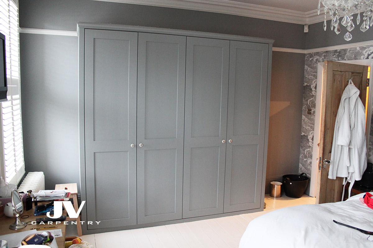 Built In Wardrobes Shaker Style Wardrobes With Shaker