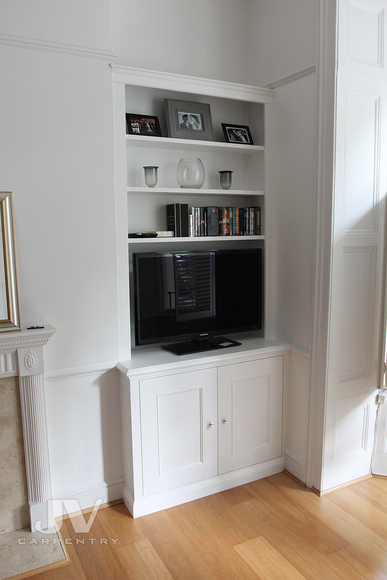 21 Alcove Shelving Ideas For Your Living Room Jv Carpentry
