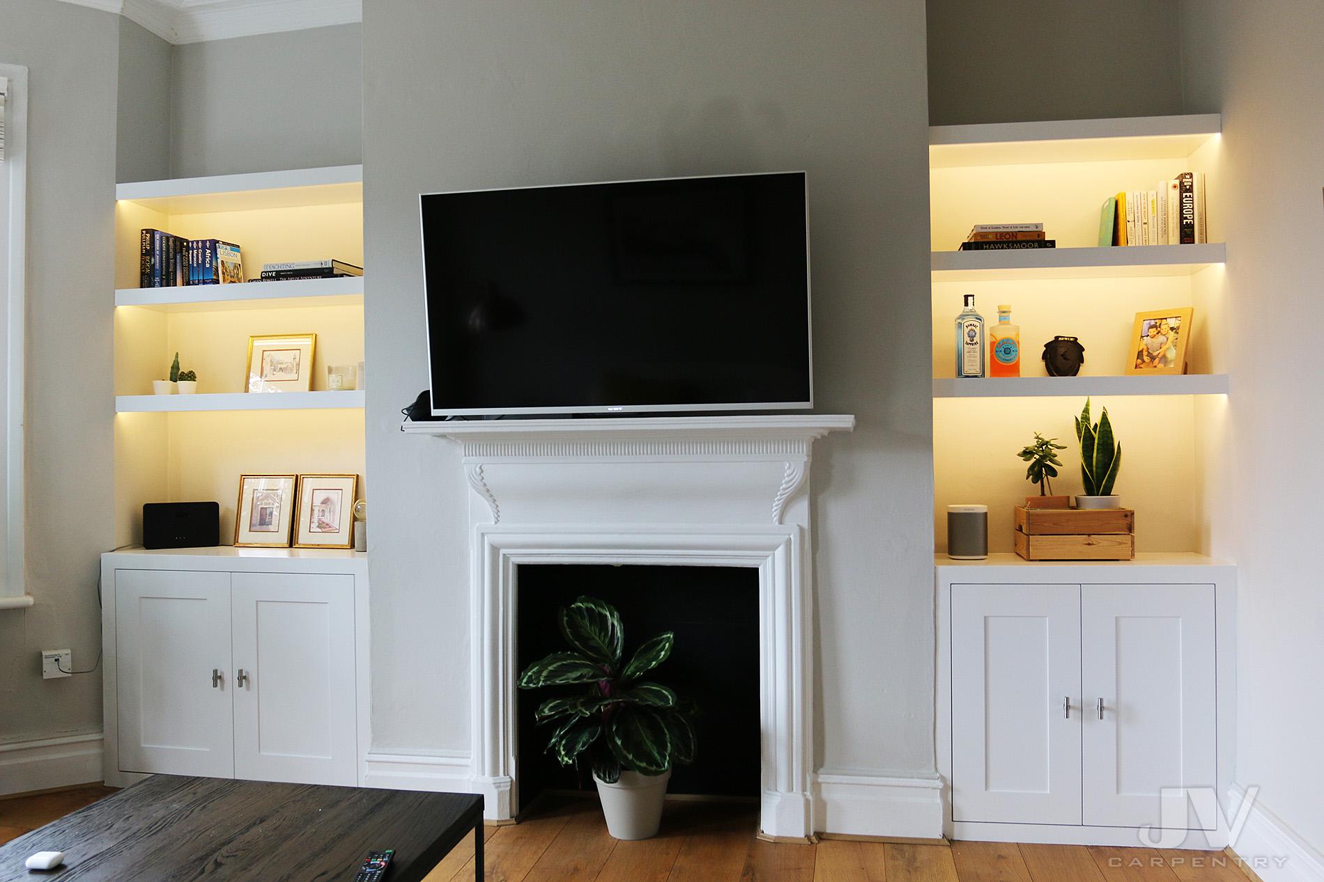 21 Alcove Shelving Ideas For Your Living Room Jv Carpentry
