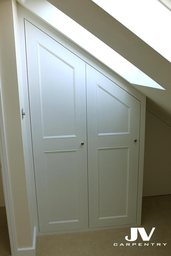 small loft wardrobes