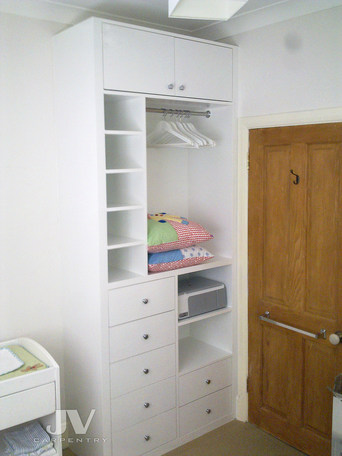 space saving wardrobe for small rooms