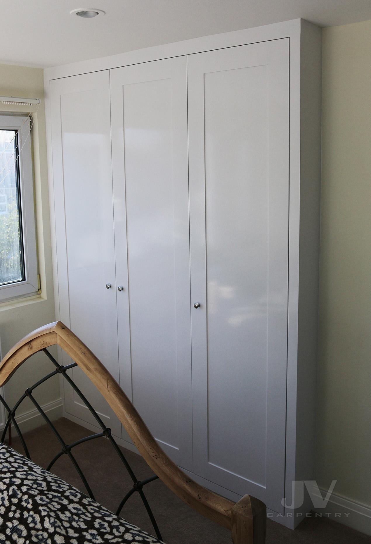 White fitted wardrobe, Ruislip