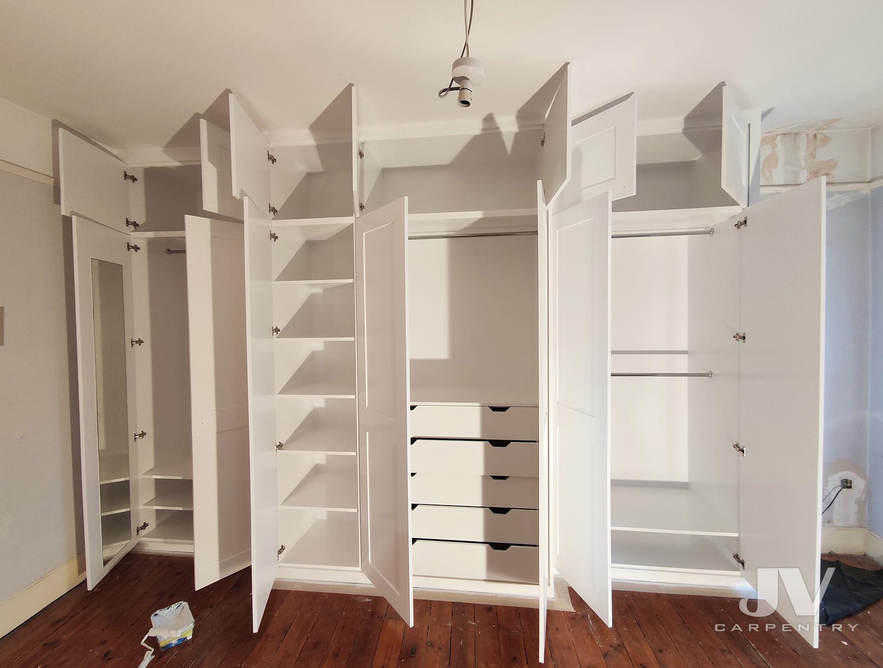 built-in wardrobes, ealing
