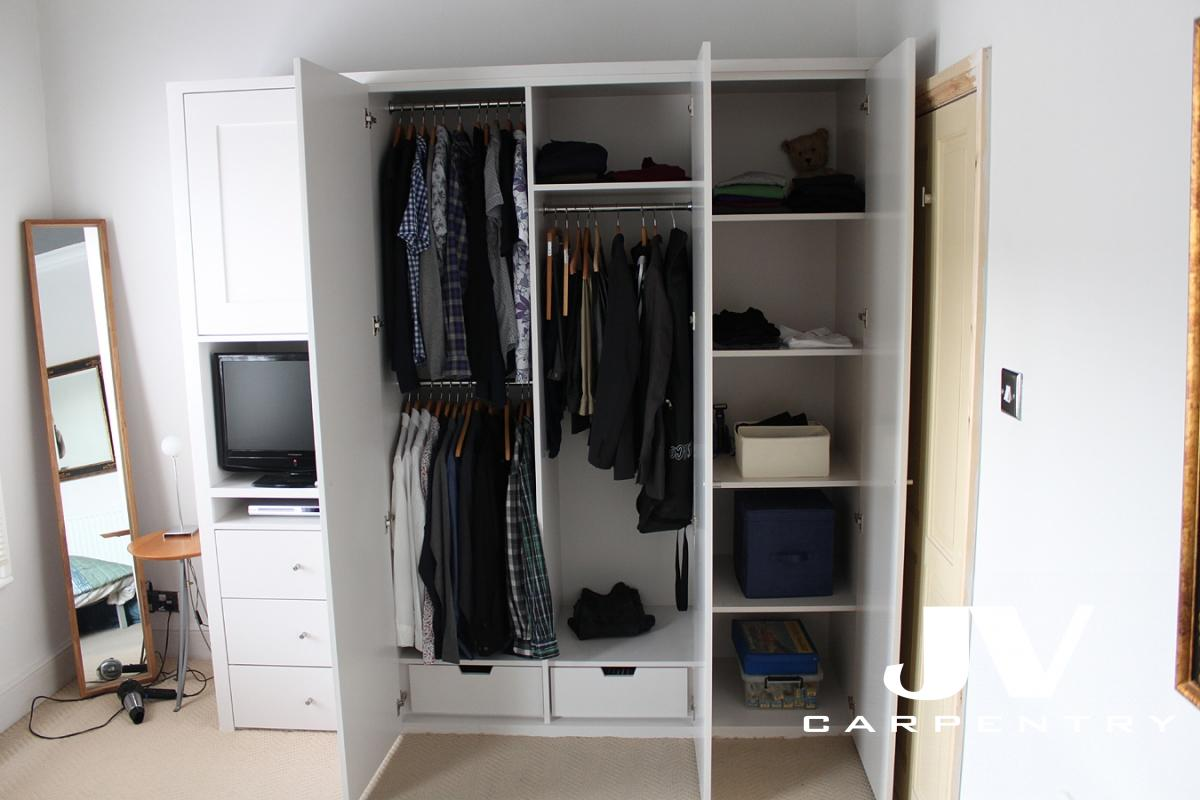 Wardrobes Interior Layouts Jv Carpentry