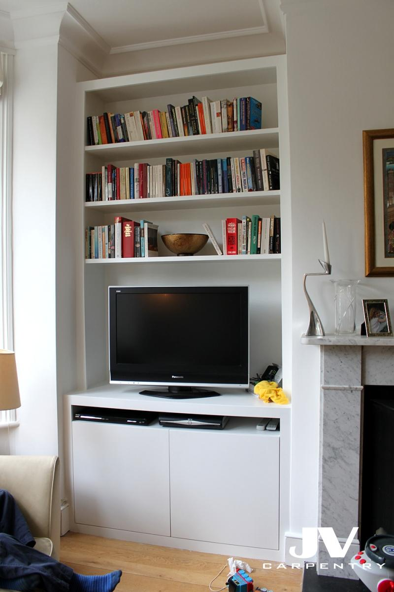 What To Put On Floating Shelves In Living Room
