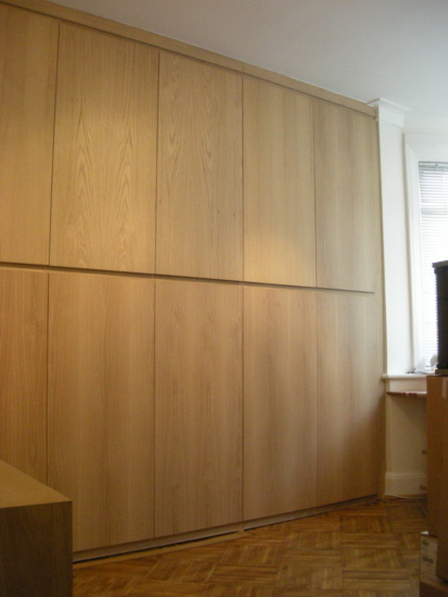 Veneer fitted cupboards