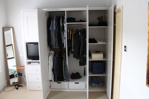 Fitted wardrobe notting hill