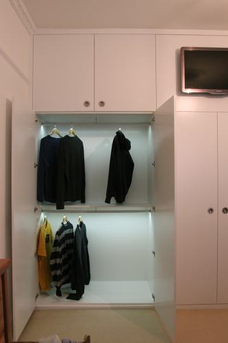 LED Light wardrobe