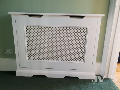 Fitted radiator coves bedroom  SW17