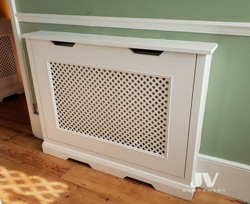 Fitted radiator coves hallway SW17