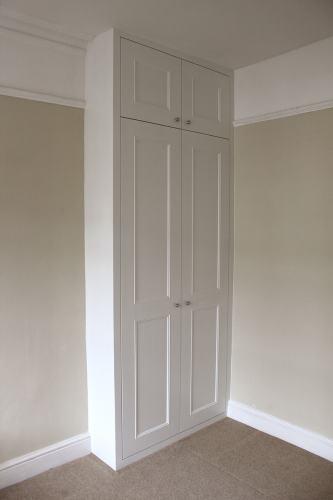 Alcove shaker beaded wardrobe