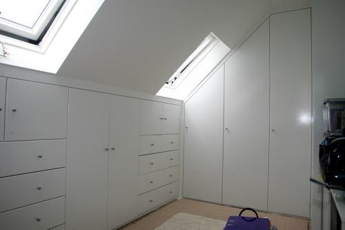 attic loft wardrobe