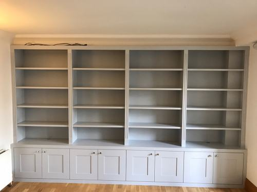 bookcase wall to wall