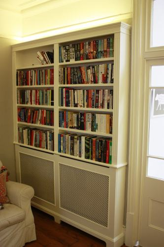 bookcase radiator cover