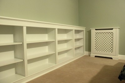 bookcase radiator cover w6