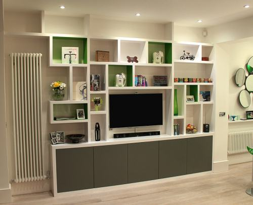 bookcase shelving modern
