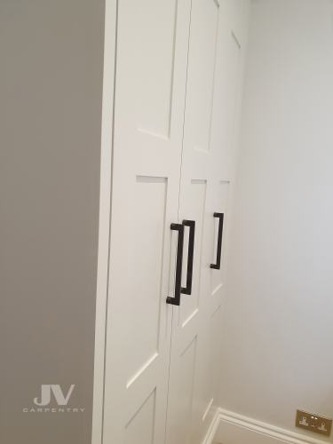 built-in-wardrobe shaker doors