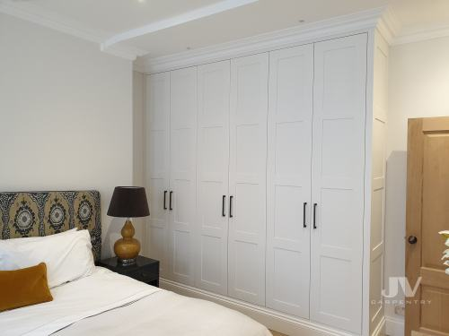 built-in-wardrobes with coving