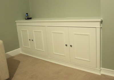 double alcove cupboard
