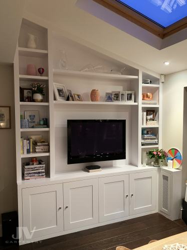 fitted-sloping-bookcase-Pinner-west-london