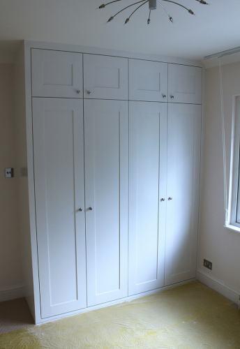 4 shaker doors wardrobe