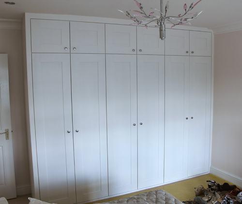 6 shaker doors wardrobe