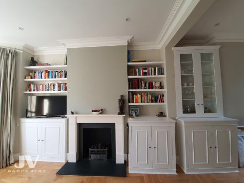 living room fitted alcoves ideas