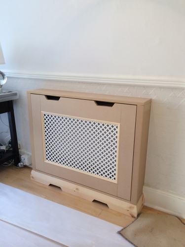 MDF radiator cover