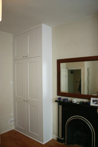 shaker beaded fitted wardrobe (LHS)