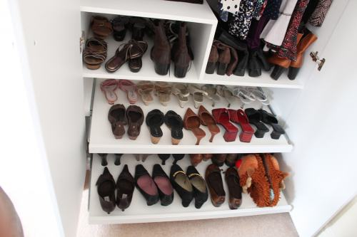 shoe rack wardrobe